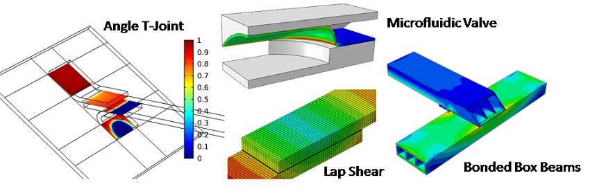 Finite Element Analysis of Adhesively Bonded Structures