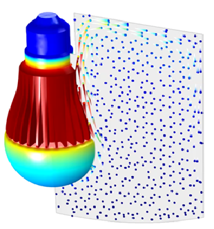 Thermal CFD Analysis of LED Bulb