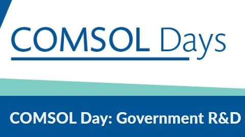 COMSOL Day Government 2020